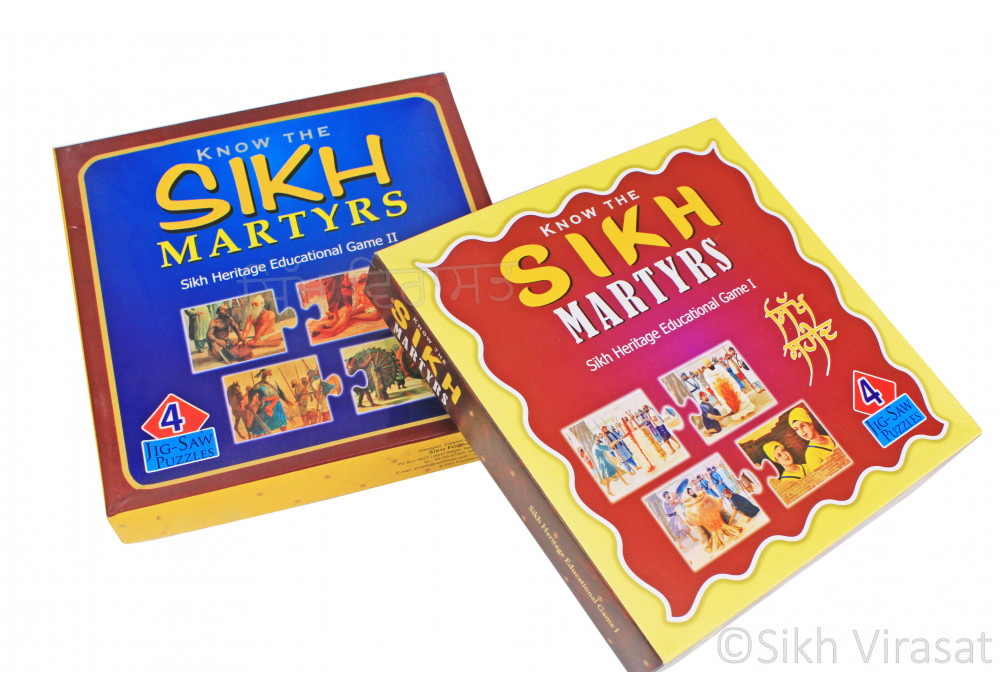 Jig Saw Puzzles Game - Know The Sikh Martyrs: Sikh Heritage Education Game I & II