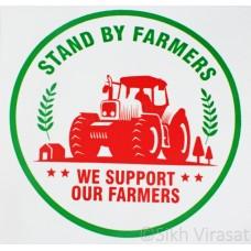 Banner No Farmer no food 2 x 3 Feet (24X36 inches)
